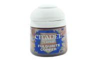 Fulgurite Copper Layer