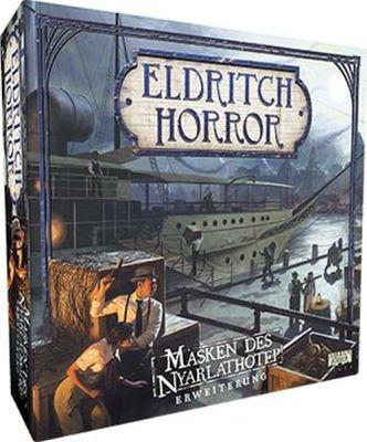 Eldritch Horror Masken des Nyarlathotep Erweiterung...