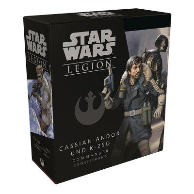Star Wars Legion Cassian Andor verpackung vorderseite