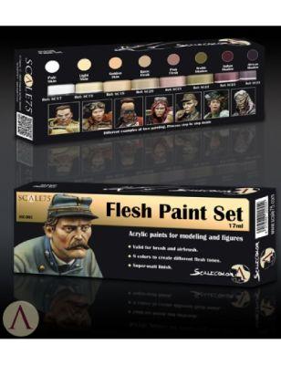 Flesh Paint Set (8x17ml)