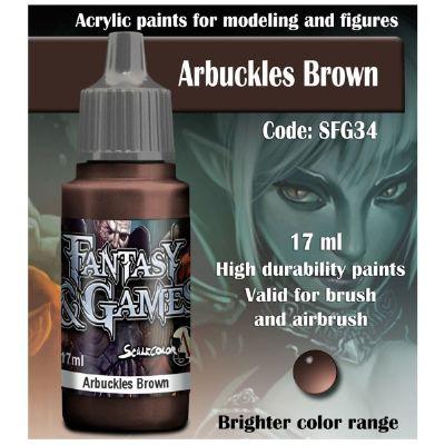 Arbuckles Brown (17ml)