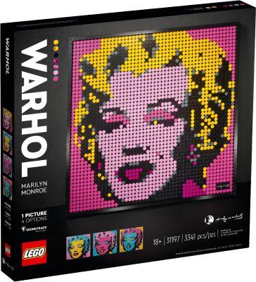 LEGO ART - 31197 Andy Warhol's Marilyn Monroe