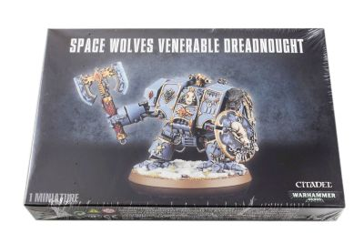 Space Wolves Venerable Dreadnought/Murderfang/Bjorn the...