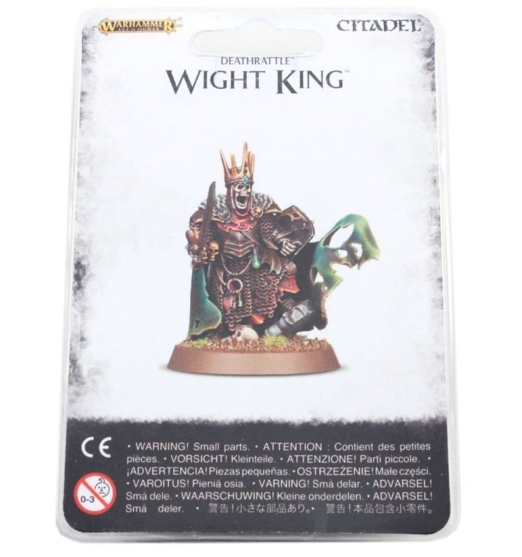 Wight King with Baleful Tomb Blade
