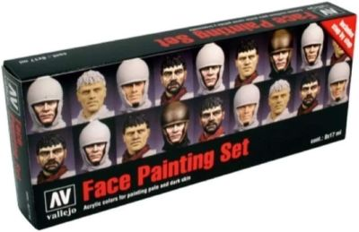 Model Color Set: Faces by Jaume Ortiz