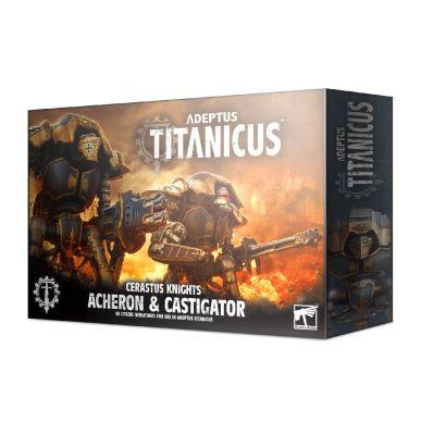 Adeptus Titanicus: Cerastus Knight Acheron & Castigator