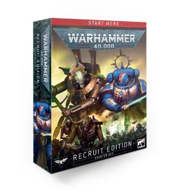 Warhammer 40k Starterset - Recruit Edition