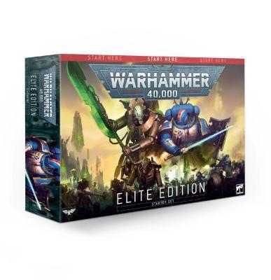 Warhammer 40k Starterset - Elite Edition Englisch