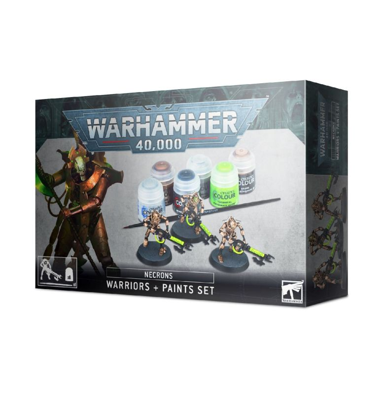 Necron Warrior Paint Set