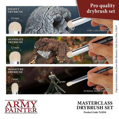 The Army Painter - Masterclass Drybrush Se