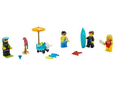LEGO City - 40344 Minifiguren-Set - Sommerparty