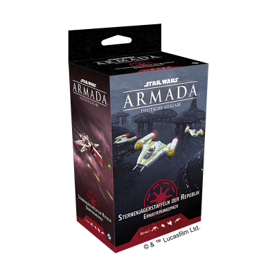 Star Wars: Armada, Sternenjäger Staffeln der Republik...