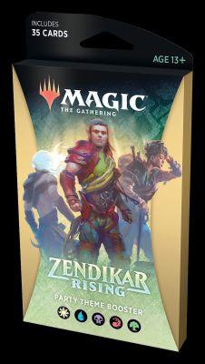 Zendikar Rising Theme-Booster-Pack: Party