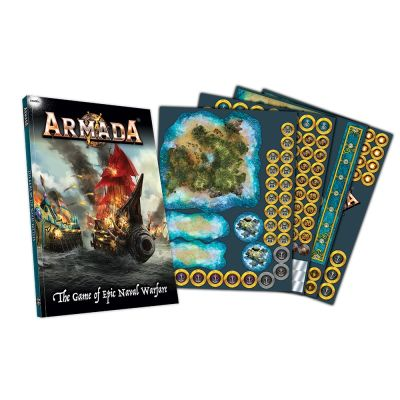 Verpackung Armada Rulebook & Counters (Englisch) Inhalt