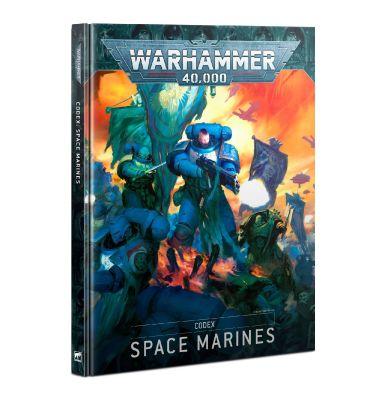 Codex: Space Marines, Cover vorderseite