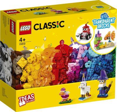LEGO Classic - 11013 Kreativ-Bauset mit durchsichtigen...