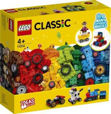 LEGO Classic - 11014 Steinebox mit Rädern