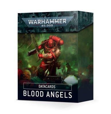 Verpackung Datacards: Blood Angels (Englisch) Vorderseite