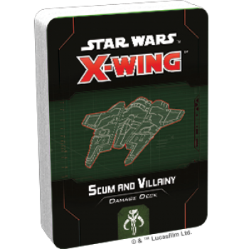 Star Wars X-Wing 2. Edition: Scum and Villainy Damage Deck