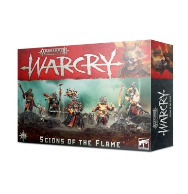 Verpackung Warcry: Scions of the Flame Vorderseite