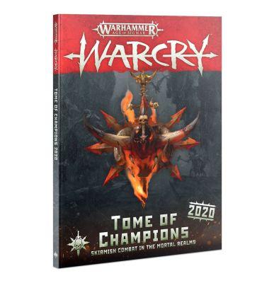 Cover Warcry: Buch Der Champions 2020 (Deutsch) Vorderseite
