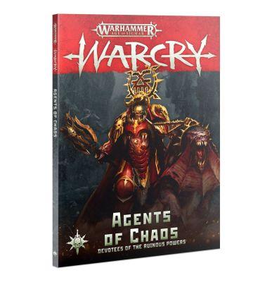 Cover Warcry: Diener des Chaos (Deutsch) Vorderseite