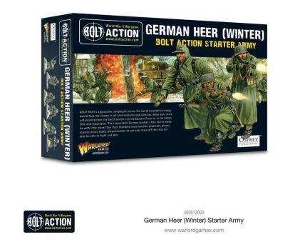 German Heer Winter Starter Army Verpackung Vorderseite