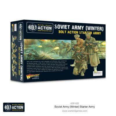 Soviet Army Winter Starter Army Verpackung Vorderseite