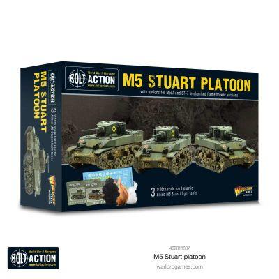 M5 Stuart Platoon Verpackung Vorderseite