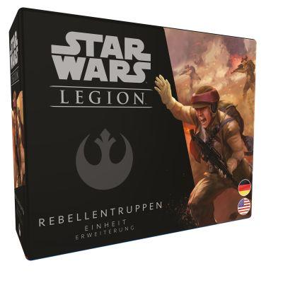 Star Wars: Legion - Rebellentruppen verpackung vorderseite