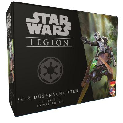 Star Wars: Legion - 74-Z-Düsenschlitten verpackung vorderseite