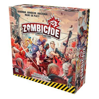 Zombicide 2. Edition deutsch cover vorderseite verpackung
