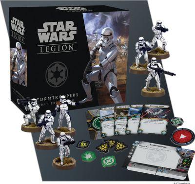 Star Wars: Legion - Sturmtruppen verpackung vorderseite mit inhalt details