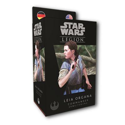Star Wars: Legion - Leia Organa verpackung vorderseite
