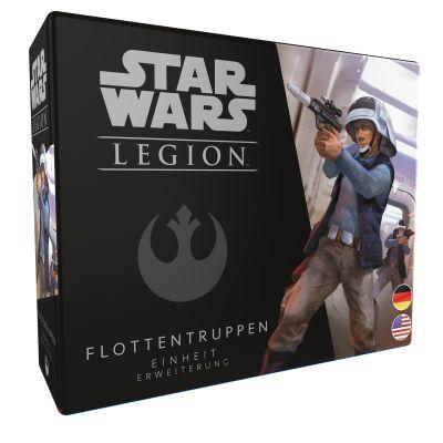 Star Wars: Legion - Flottentruppen verpackung vorderseite