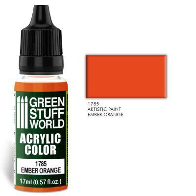 Acrylic Color EMBER ORANGE