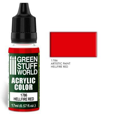 Acrylic Color HELLFIRE RED