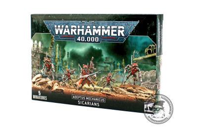 Sicarians, Adeptus Mechanicus