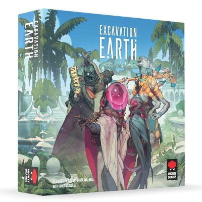 Excavation Earth cover vorderseite verpackung