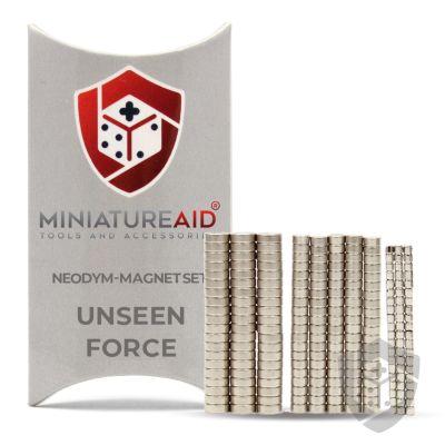 Unseen Force neodym magnete set miniatureaid vorderseite