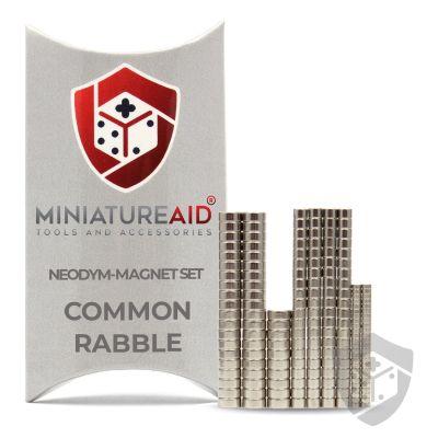 Common Rabble neodym magnete set miniatureaid vorderseite