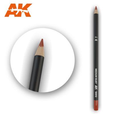 Watercolor Pencil Medium Rust (box - 5 Units)