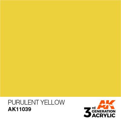 Purulent Yellow 17ml