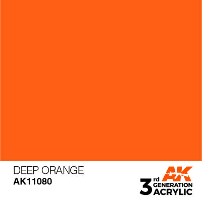 Deep Orange 17ml
