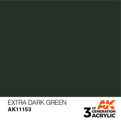 Extra Dark Green 17ml