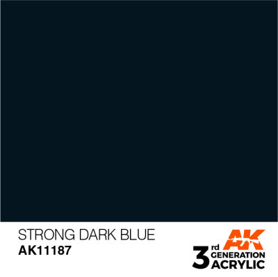 Strong Dark Blue 17ml