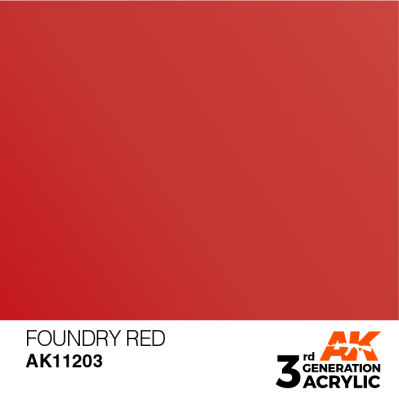 Foundry Red 17ml