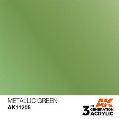 Metallic Green 17ml