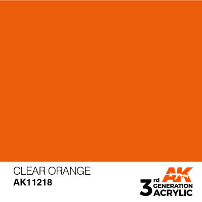 Clear Orange 17ml