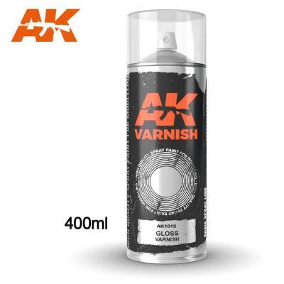 Gloss Varnish - Spray 400ml (includes 2 Nozzles)
